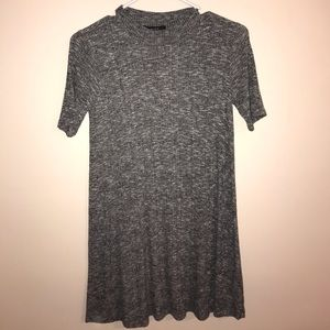 Forever 21 Gray shirt dress